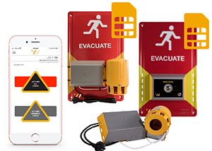 Evacuation System - Smartphone Managed