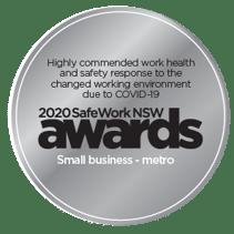 Safework Awards - Highly Commended